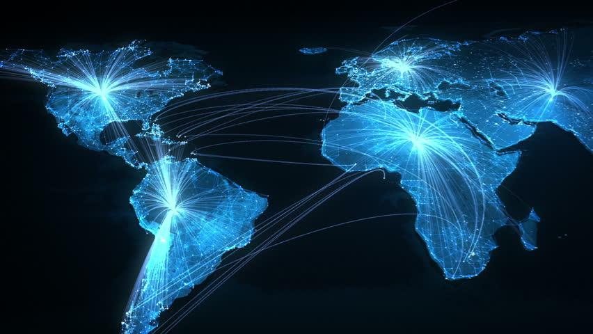 Global Network   Shutterstock HD Video #4858514