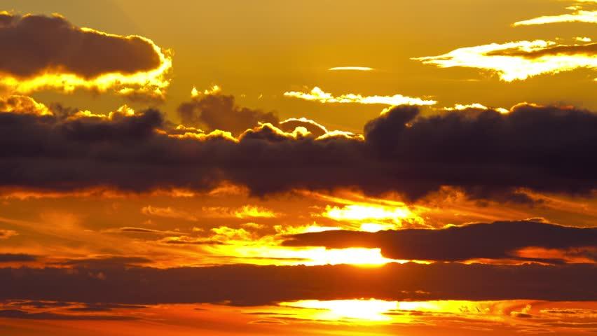 sunrise sky, sun, timelapse #4859021