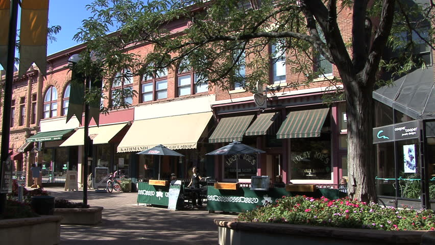 FORT COLLINS, COLORADO - CIRCA 2012: Fort Collins shops | Shutterstock HD Video #4874009