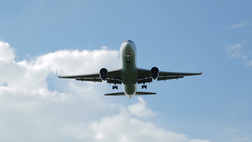 Anonymous Aeroplane Flies Low Overhead