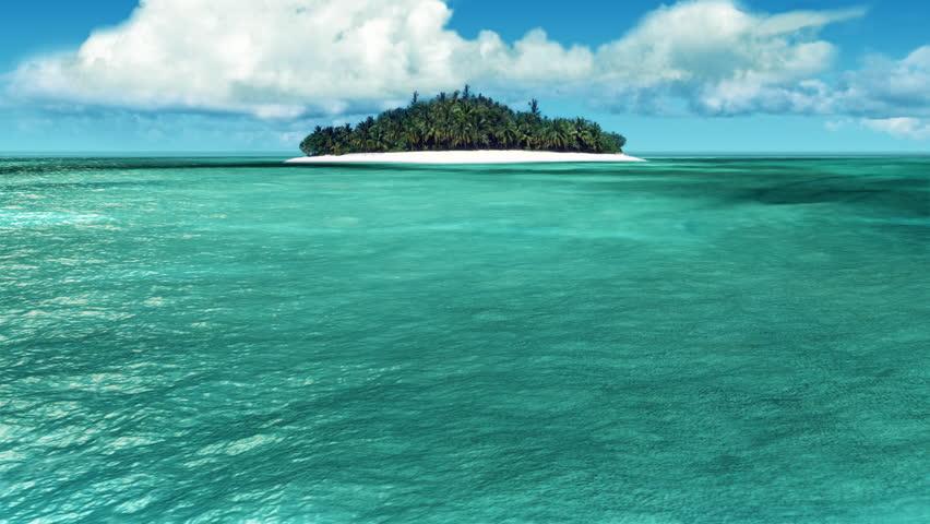Caribbean Island loop   Shutterstock HD Video #4896029
