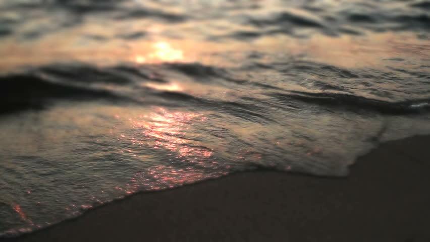 Wave sunset   Shutterstock HD Video #4898855