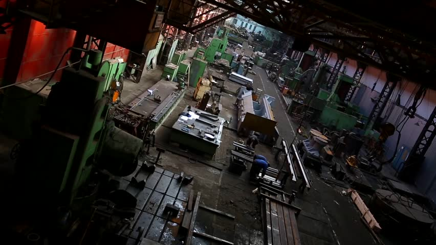 industrial machine factory from the inside #4900475