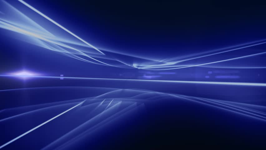 News Style Background - Blue Abstract Motion Background with Lines and Lens Flares #4903172