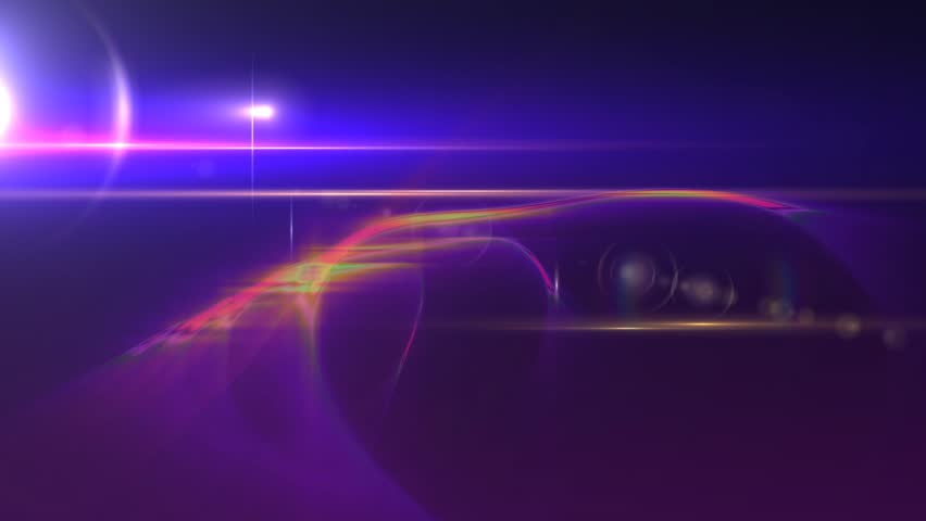 News Style Background - Purple Abstract Motion Background with Lines and Lens