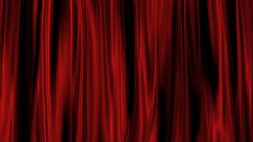 Red Curtain with Alpha Channel  | Shutterstock HD Video #4915508