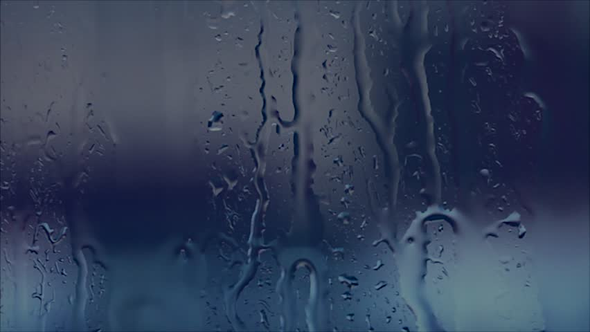 Rain drops on the Window glass #4931930
