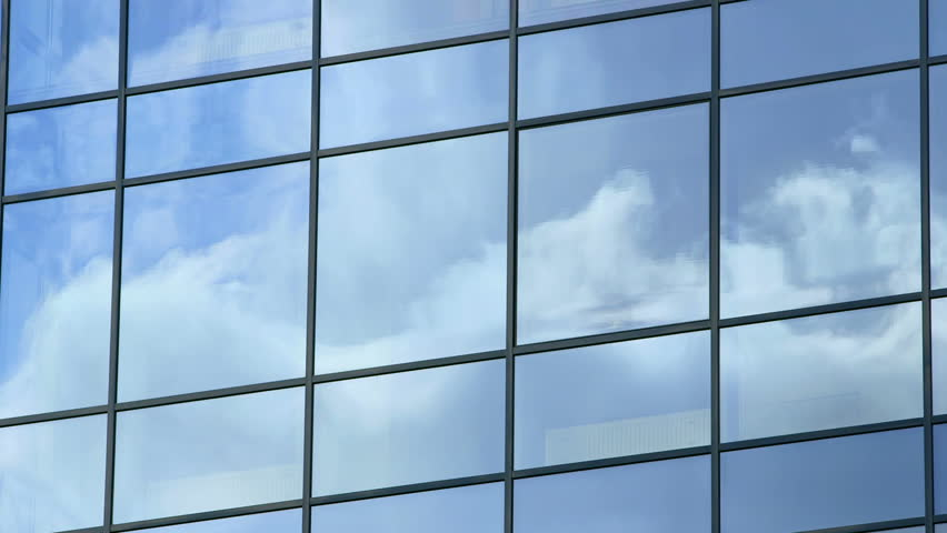 Business corporate building glass and steel background timelapse #4939646