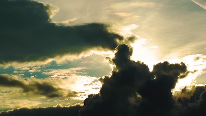 Dark Clouds Time Lapse #4956989