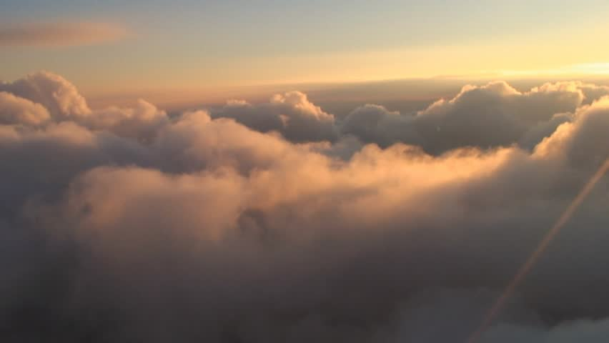 Low light cloudscapes. These are real organic clouds, shot from a photo aircraft, not computer CG.