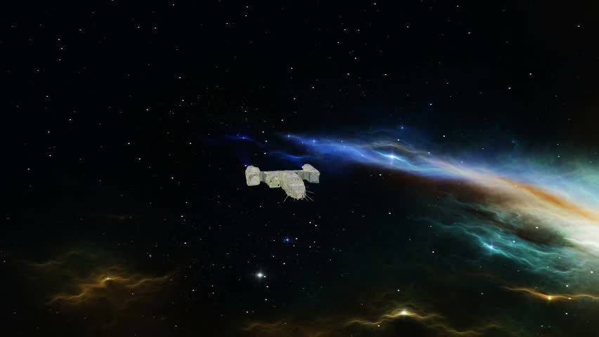 Space ship  | Shutterstock HD Video #5008958
