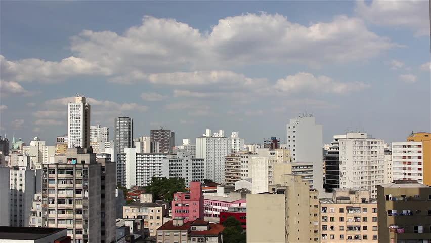 Sao Paulo, Sao Paulo/Brazil - november 2013 - A beautiful view of the buildings in Sao Paulo city. | Shutterstock HD Video #5015651