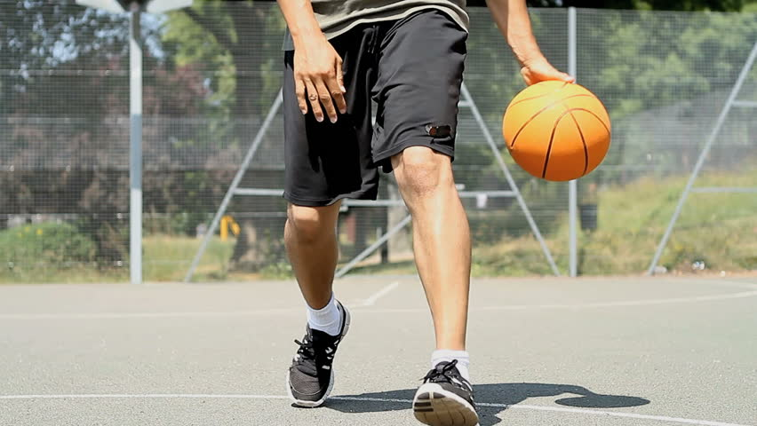 Basketball Player Rapidly Bouncing the Stock Footage Video (100%  Royalty-free) 5039228   Shutterstock
