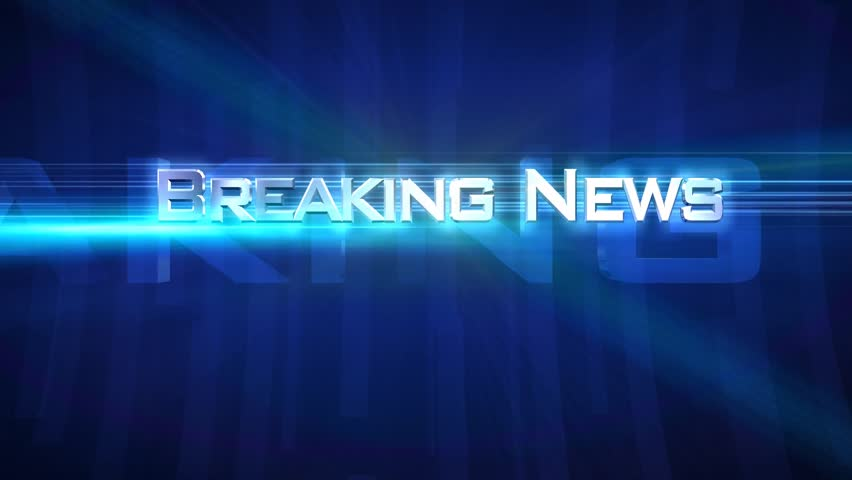"""Breaking News - Tube Blue - Opening sequence for your own """"news broadcast""""  Use it for show intros or video titles.  Choose from 5 colors. ( Blue, Red, Green, Yellow, Purple ) See other versions 