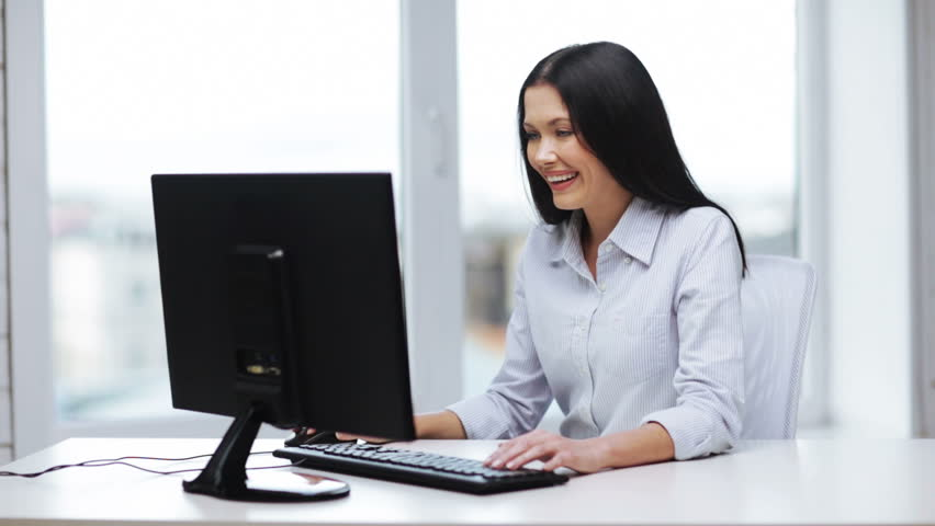 Attractive Business Woman Working with : video stock a tema (100% royalty free) 5051273 | Shutterstock