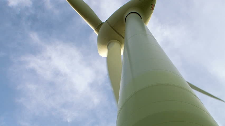 Wind turbine Mills park making electic energy from wind | Shutterstock HD Video #5052203