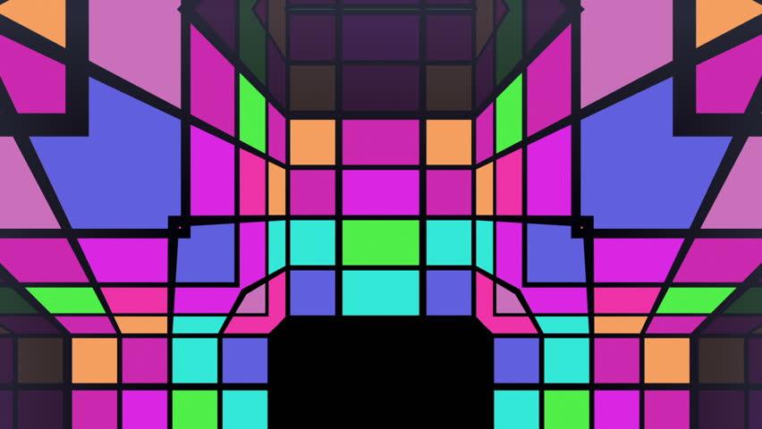 Kaleidoscope Light Background.   Shutterstock HD Video #5070668