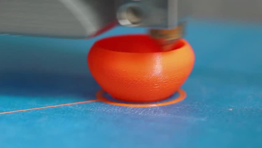 3D Printing Vase   Shutterstock HD Video #5104418