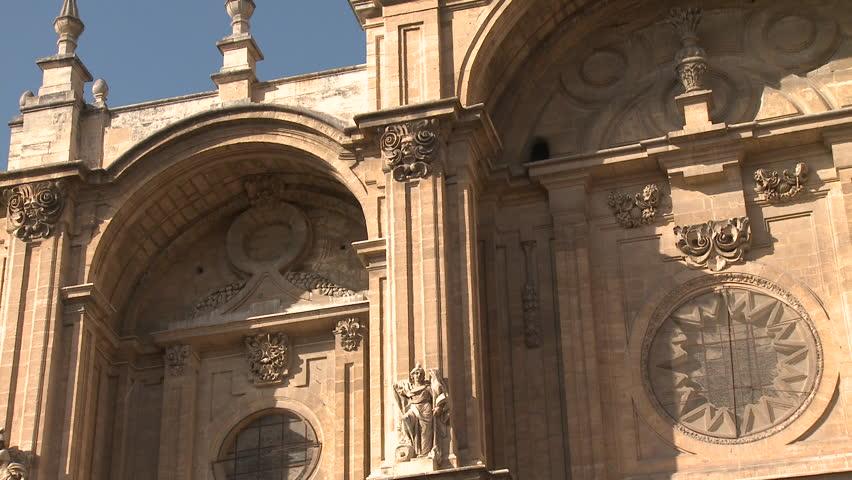 Old building in Granada, Spain | Shutterstock HD Video #5105954