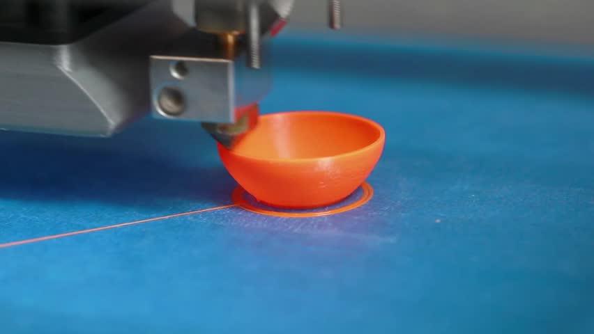 3D Printing Vase   Shutterstock HD Video #5106464