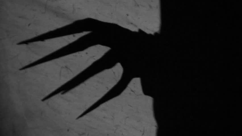 Spooky shadows on the wall. Nr.2.