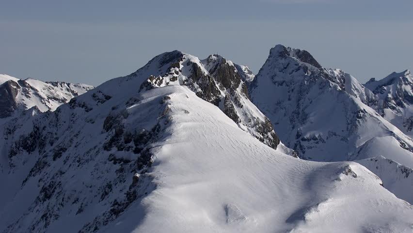 Aerial Shot Alps 023 #5190008