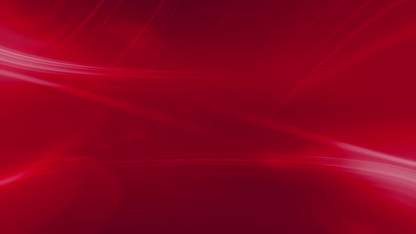 Red Lens Flare And Vector Lines Abstract Background