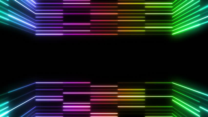Neon Tube. | Shutterstock HD Video #5205785
