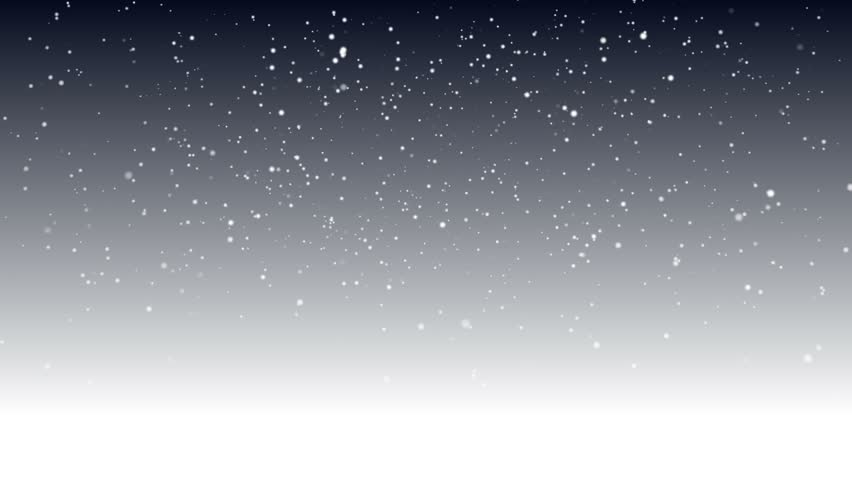 Snow Background - Animated Falling snowflakes