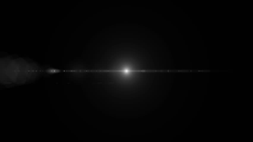 lens flare light for cinematic text #5213972