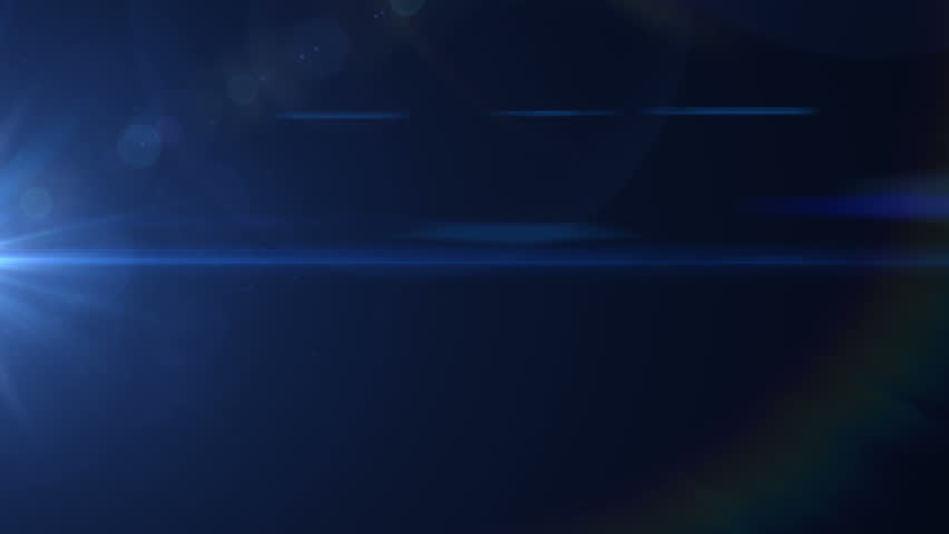 Lens flare effect on black background (cool) | Shutterstock HD Video #5216198