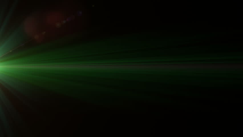 Lens flare effect on black background (fast twinkling green) | Shutterstock HD Video #5216321