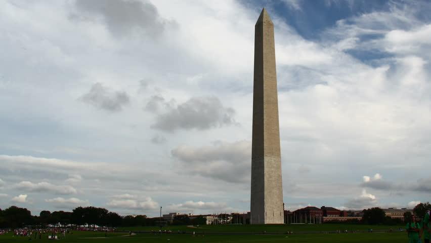 Washington Monument Time-Lapse. Timelapse of the Washington Monument in Washington D.C. Rendered in UltraHD 4K from high resolution stills.