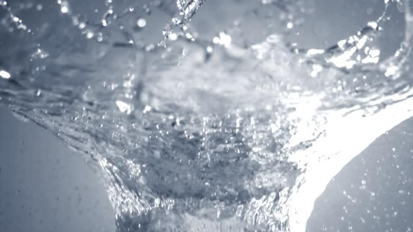Water splashing in slow motion | Shutterstock HD Video #5248172