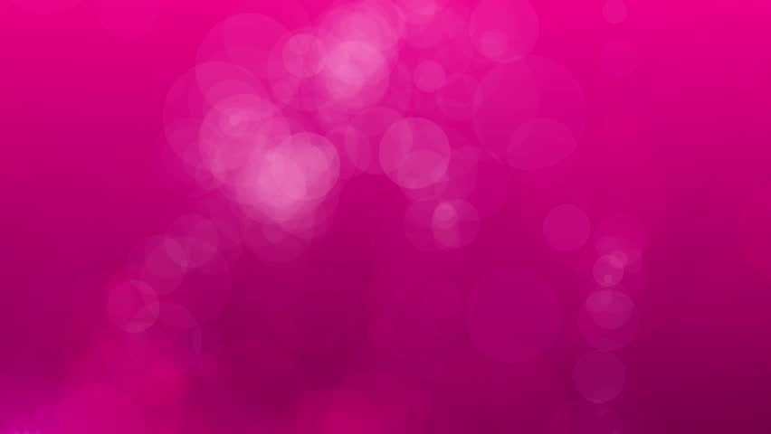 Animation of Pink bokeh Abstract Background