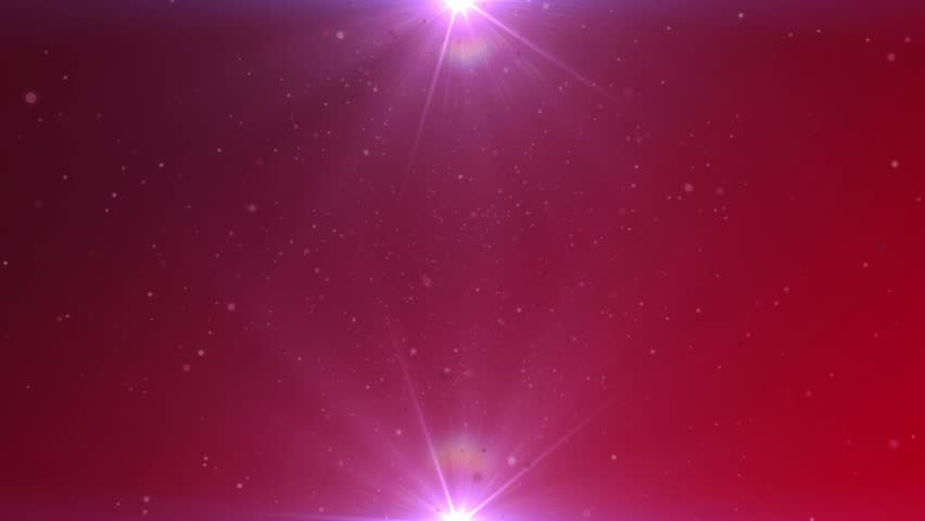 Abstract Motion Background With Red Lens Flares