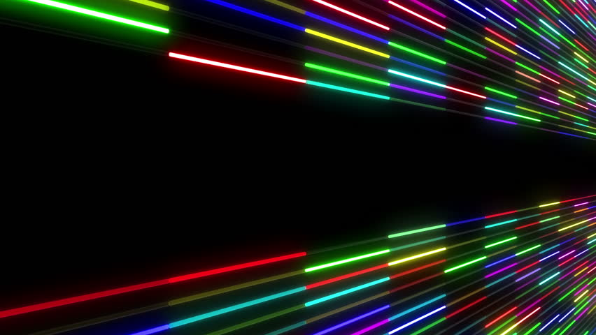 Neon Tube illumination wall abstract background.   Shutterstock HD Video #5311574