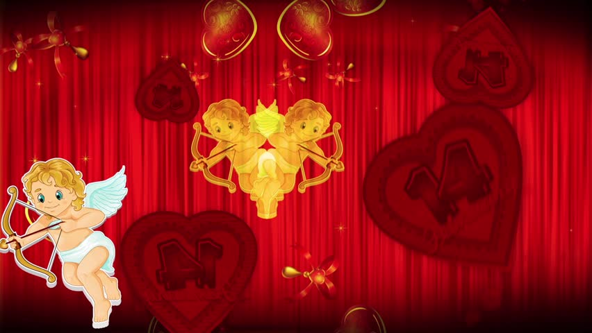 Footage background high definition - Happy Valentine's Day | Shutterstock HD Video #5317601