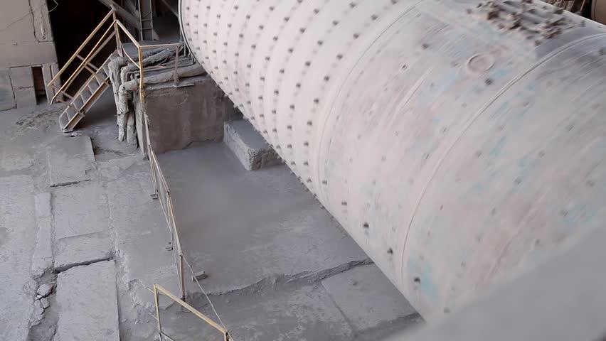 Cement factory  | Shutterstock HD Video #5361707