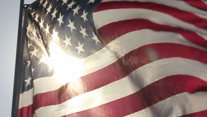 AMERICAN FLAG IN SLOW MOTION