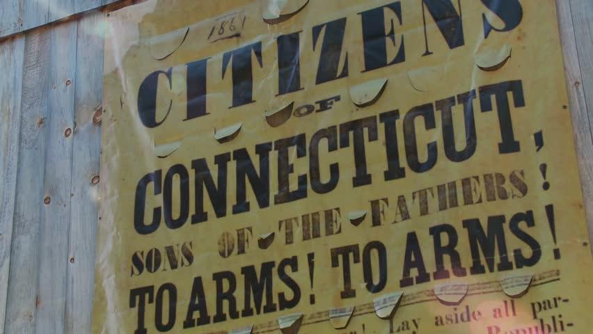 Connecticut propaganda poster (2 of 2)   Shutterstock HD Video #5381084