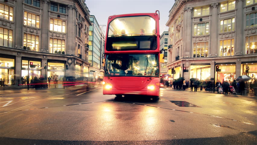 OXFORD STREET LONDON TIME-LAPSE  HD