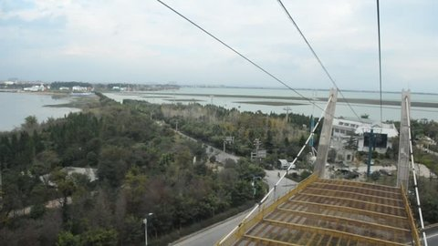 View from xishan cable car in Kunming