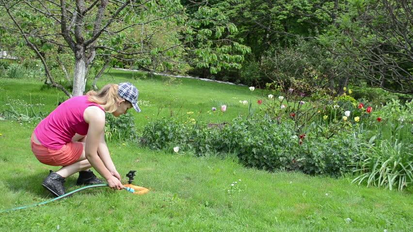 Horny Milf Dominating The Gardener