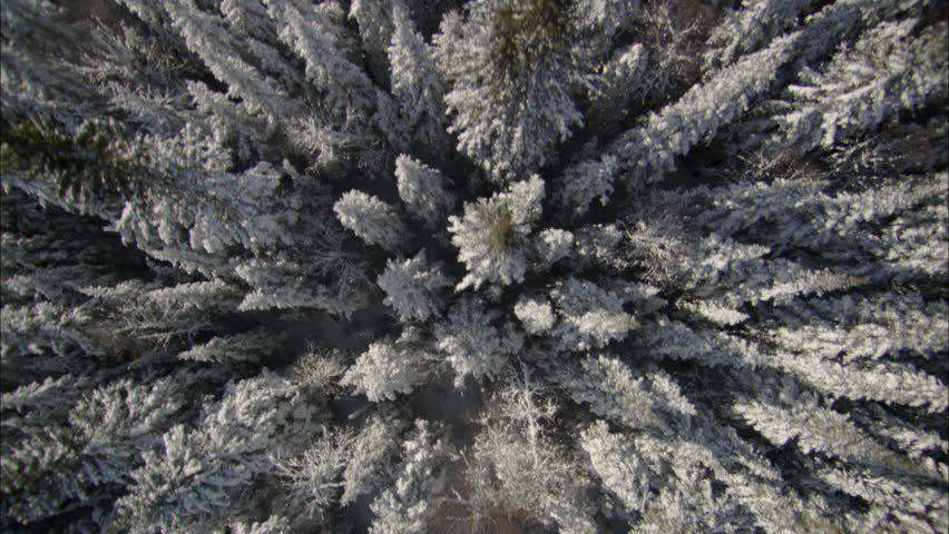 Aerial Footage Arctic Tundra. Aerial footage of the vast and desolate arctic tundra.