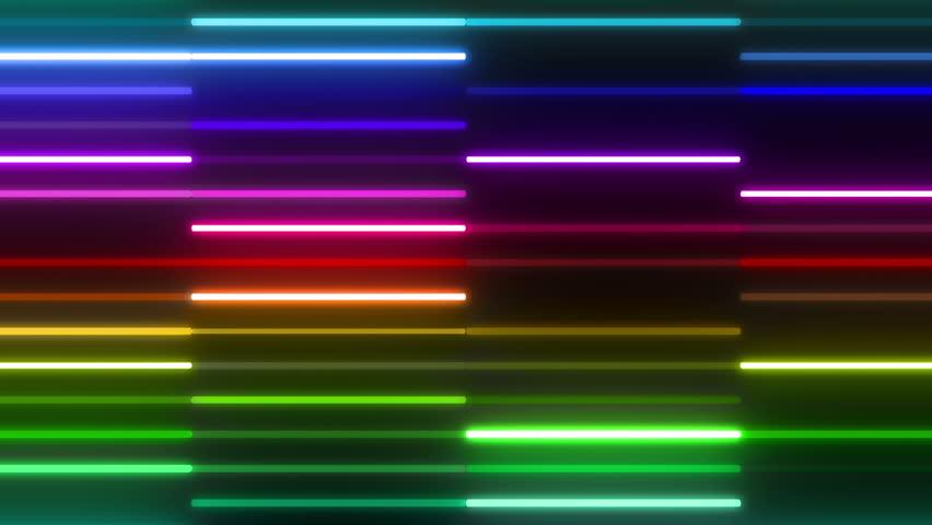 Neon light Tube.   Shutterstock HD Video #5437304