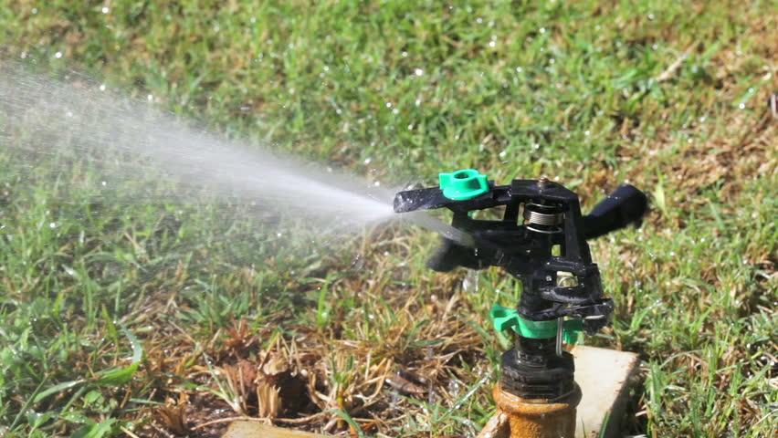 Automatic watering lawn   Shutterstock HD Video #5479757