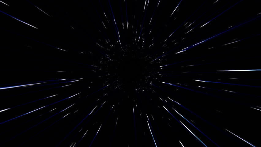 A beautifully animated video background of a star tunnel. | Shutterstock HD Video #5491355