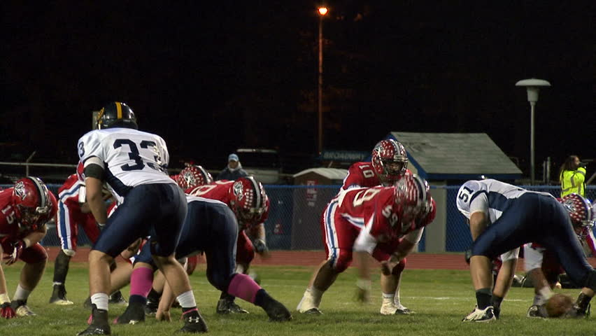 LANGHORNE, PENNSYLVANIA - NOVEMBER 8 RB D'Andre Pollard (#21, Redskins) breaks 5 tackles and runs into the end zone for a touchdown against Unionville HS, in the playoffs on August 30th, 2013.