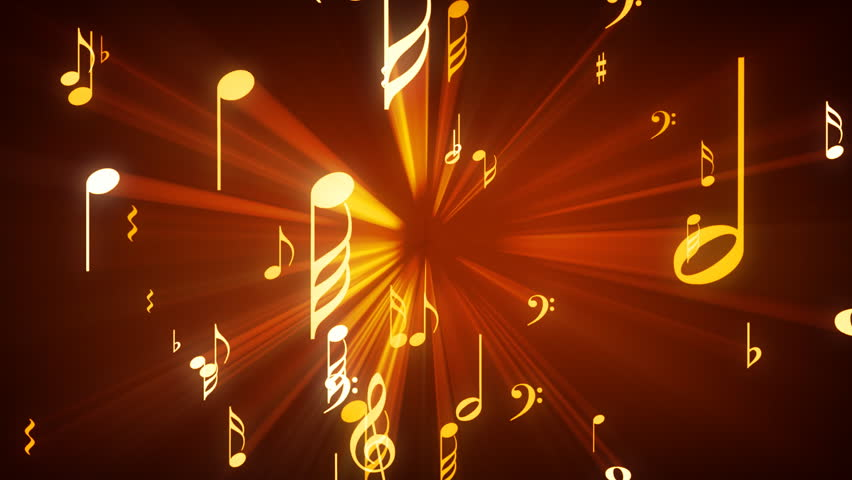 Animated Background with Musical Notes Stock Footage Video (100% Royalty-free) 5500748 | Shutterstock